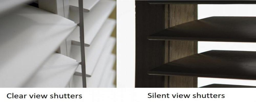 Clear view & SilentView shutters van JASNO