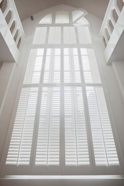 Shutters in every conceivable shape