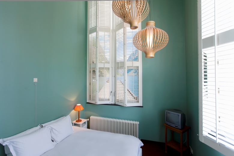 Shutters in Lloyd Hotel & Culturele Ambassade Amsterdam - Photography by Mirjam Bleeker