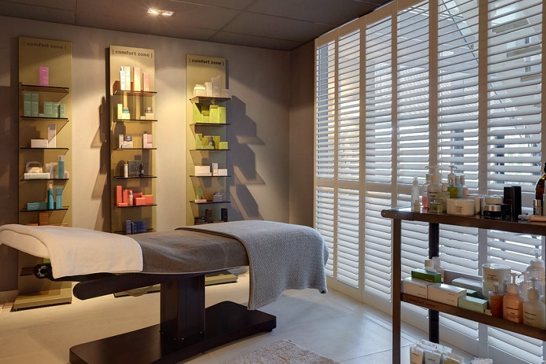 Enhance the atmosphere in your wellness room with JASNO shutters