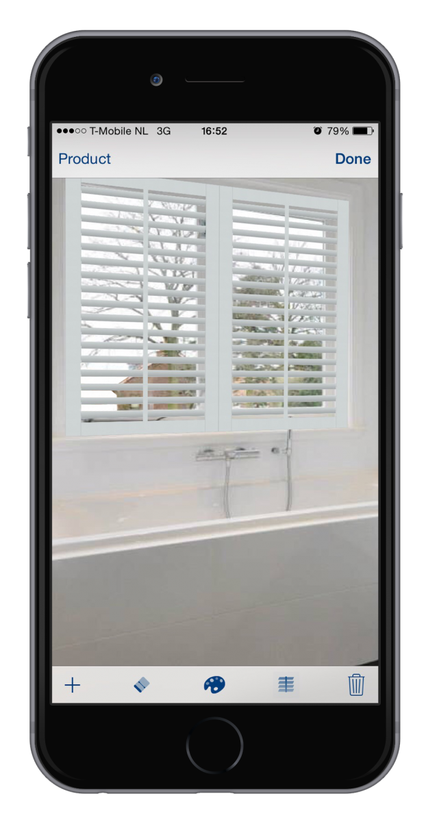 The JASNO shutters and blinds App for Apple and Android