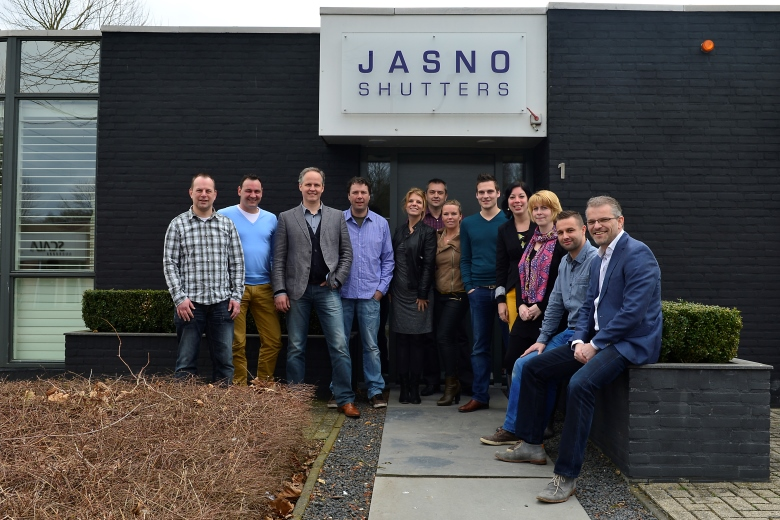 JASNO shutters and blinds team