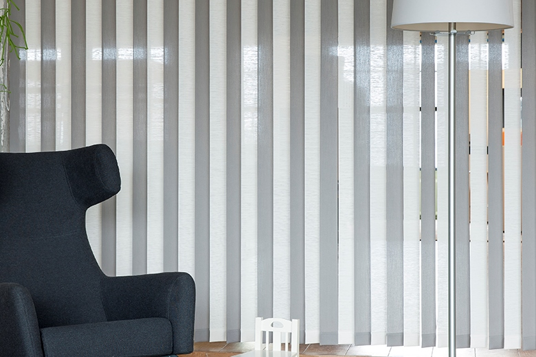 vertical louver blinds jasno shutters blinds and. Black Bedroom Furniture Sets. Home Design Ideas