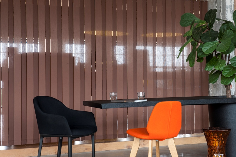 Material Vertical louver blinds