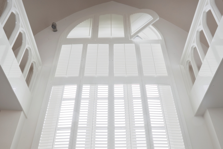 Perfect Shutters for high windows