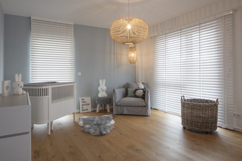 JASNO blinds bedroom white