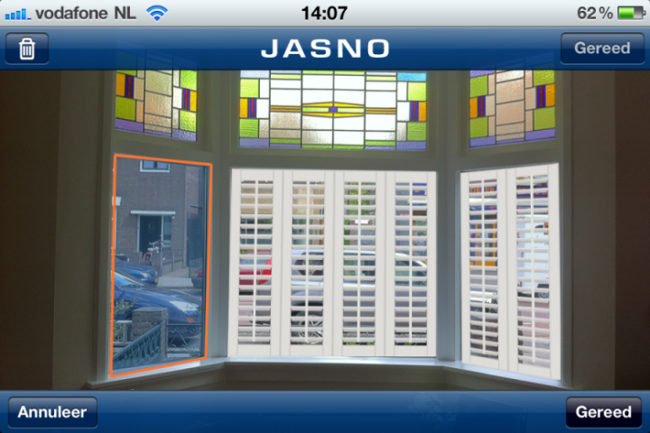 JASNO shutters app for android, ipad and iphone