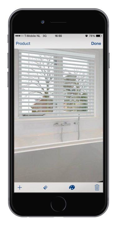 JASNO shutters blinds app iPhone Android
