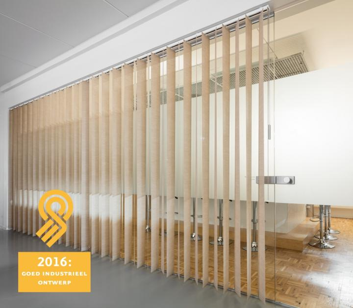 GIO award for JASNO vertical louver blinds