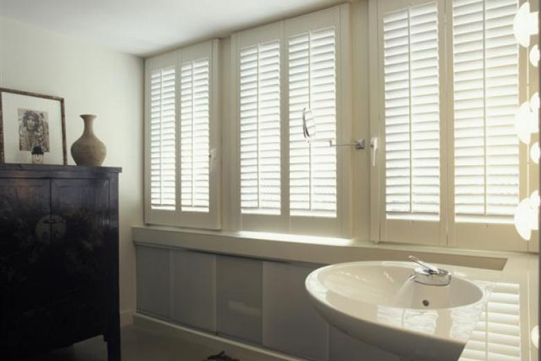 Shutters in bathrooms