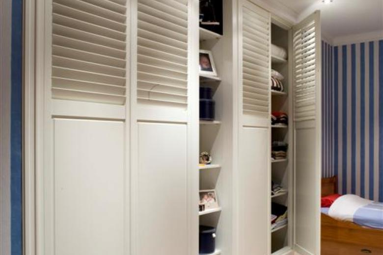 JASNO shutters as cupboard doors