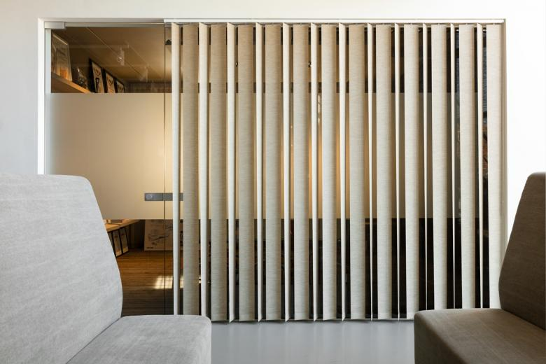 JASNO vertical louver blinds at GBO
