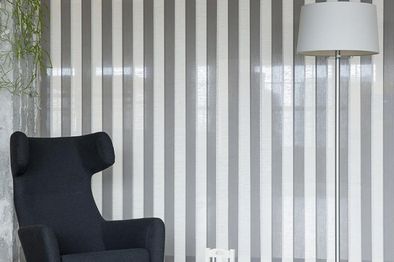 Swings: vertical louver blinds from JASNO shutters